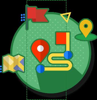 نقشه در طراحی سایت